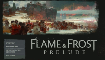 FLAME _ FROST