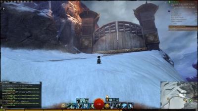雪山ゲート