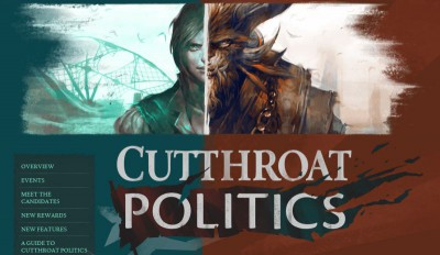 CUTTHROAT POLITICS