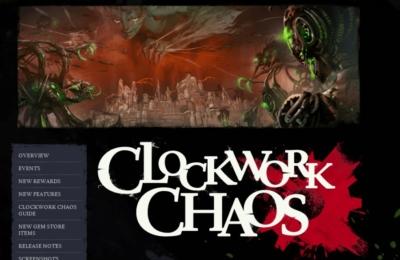 Clockwork Chaos