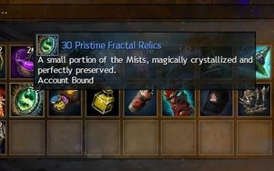 Pristine Fractal Relic