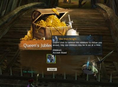 Queen's Jubileeリワード