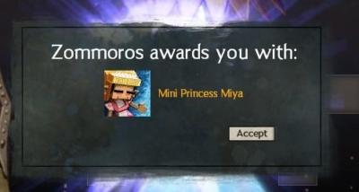 Miya完成
