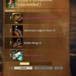 [GW2] Ascended武器作成