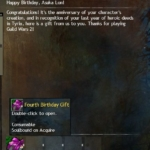 [GW2] Fourth Birthday